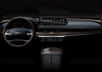 Genesis G80 Dashboard