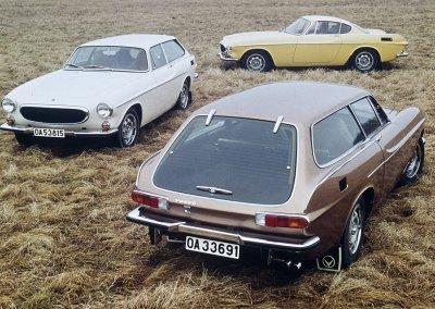 Volvo 1800 E and Volvo 1800 ES
