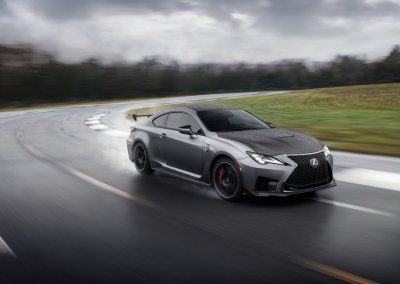 Lexus RS F Track Edition