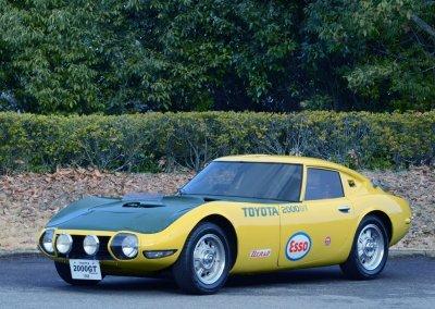 Toyota 2000 GT Weltrekordfahrzeug