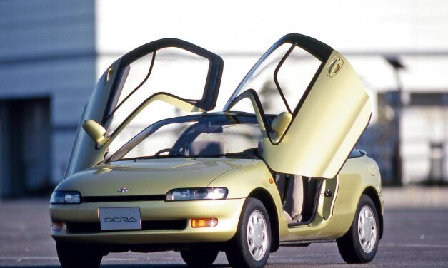 Toyota Sera – Beflügelte Schönheit