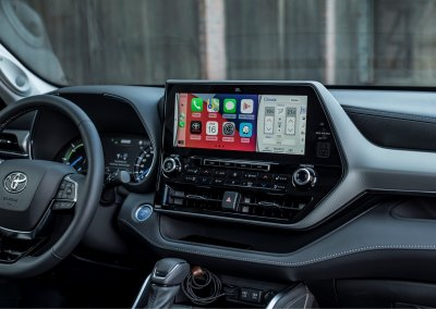 Toyota Highlander 12,3 Zoll Bildschirm Cockpit