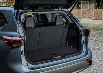 Toyota Highlander Kofferraum