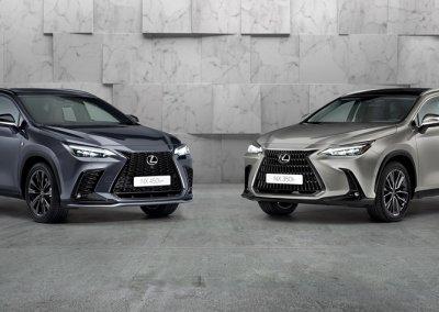 Lexus NX 350 h und 450h