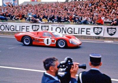 Ford GT40 beim 24-Stunden-Rennen LeMans, Frankreich, 1967