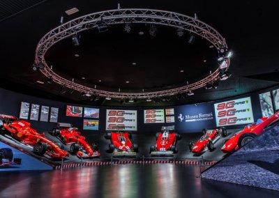 "Ferrari Jubiläumsausstellung ""90 anni"" in Maranello"