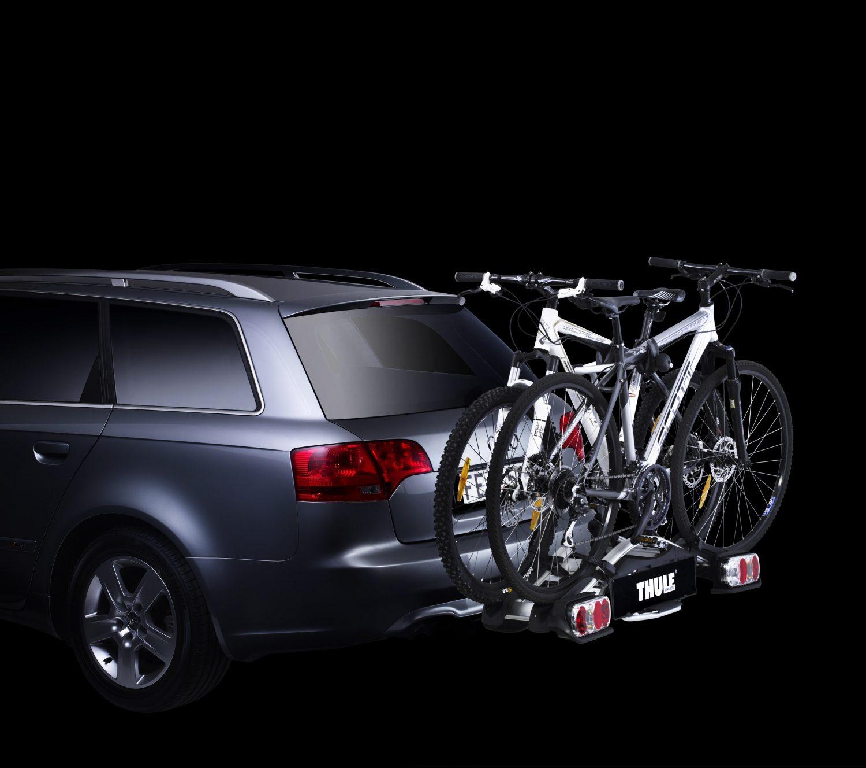 Fahrradträger: Plattform für die Anhängerkupplung