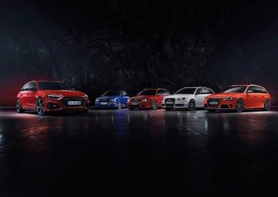 Audi RS4 Avant Alle Modelle bisher