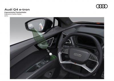 Audi Q4 e-tron Flaschenhalter