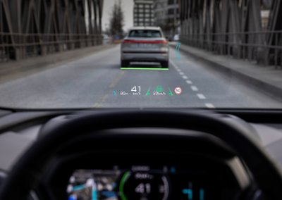 Audi Q4 e-tron Augmented Reality Head-up-Display