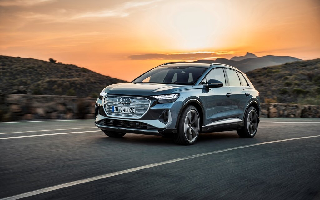 Audi Q4 e-tron – Die Kleineren unter den Elektrischen