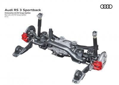 Audi RS 3 Sportback RS Torque Splitter