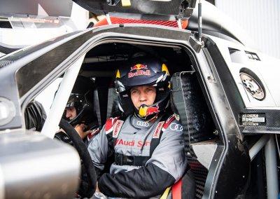Audi RS Q e-tron Mattias Ekström
