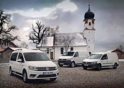 ABT VW e-Caddy und e-Transporter