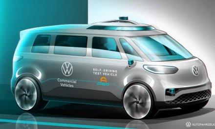 Autonomes Fahren von Volkswagen Nutzfahrzeuge