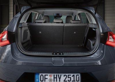 Hyundai i20 1.0 T-GDI 48-Volt-Hybrid Kofferraum