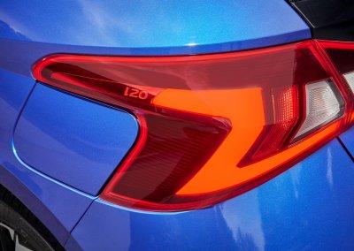 Hyundai i20 1.0 T-GDI 48-Volt-Hybrid Rückleuchte