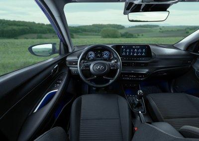 Hyundai i20 1.0 T-GDI 48-Volt-Hybrid Interieur