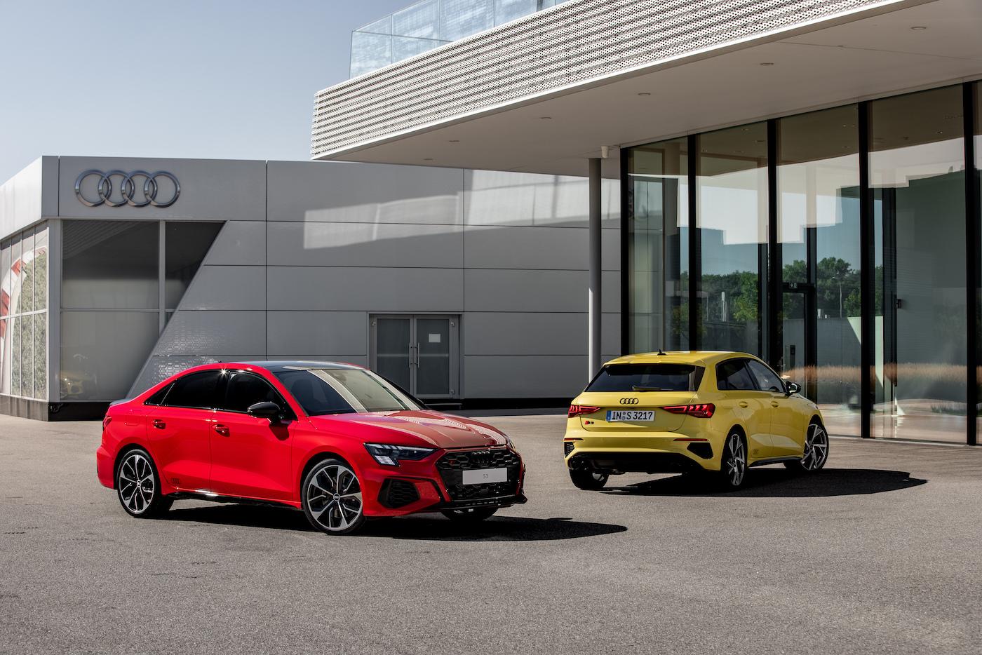 Audi S3 Limousine und Sportback