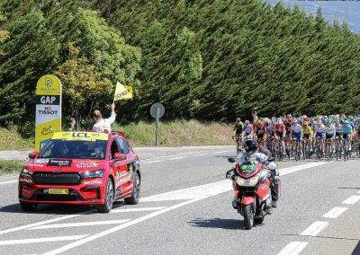 Skoda Enyaq iV Tour de France