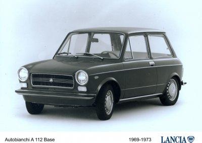 Autobianchi A112 Serie 1969 bis 1973