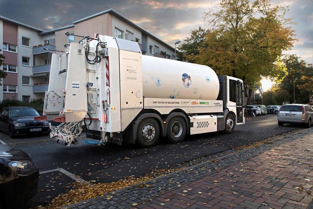 Faun Bluepower in Bremen Einsatz ohne Team