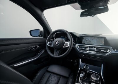 BMW Alpina D3 S Cockpit