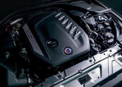 BMW Alpina D3 S Motor