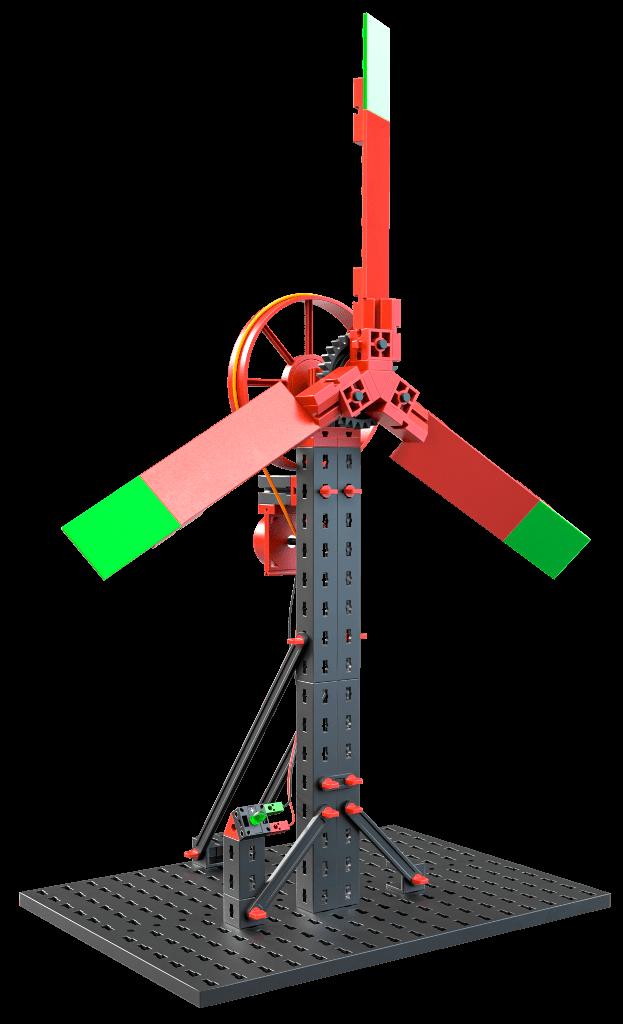 fischertechnik Green Energy Windrad