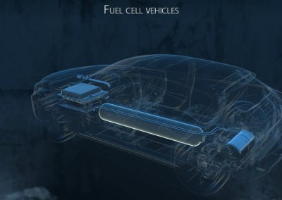Faurecia Brennstoffzelle Hologram