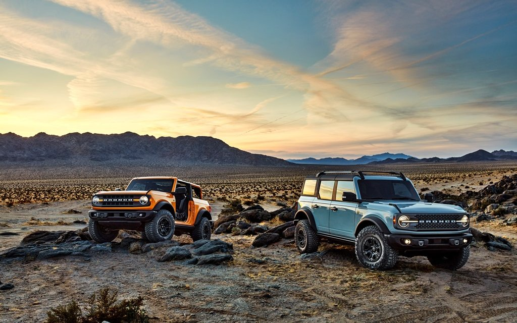Ford Bronco – Der ultimative Outdoor-Fun