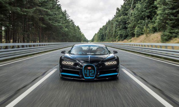 Bugatti Chiron mit Weltrekord – 0-400-0 km/h in 42 Sekunden