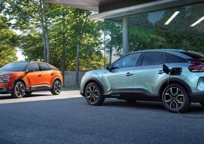 Citroën C4 und Citroën ë-C4