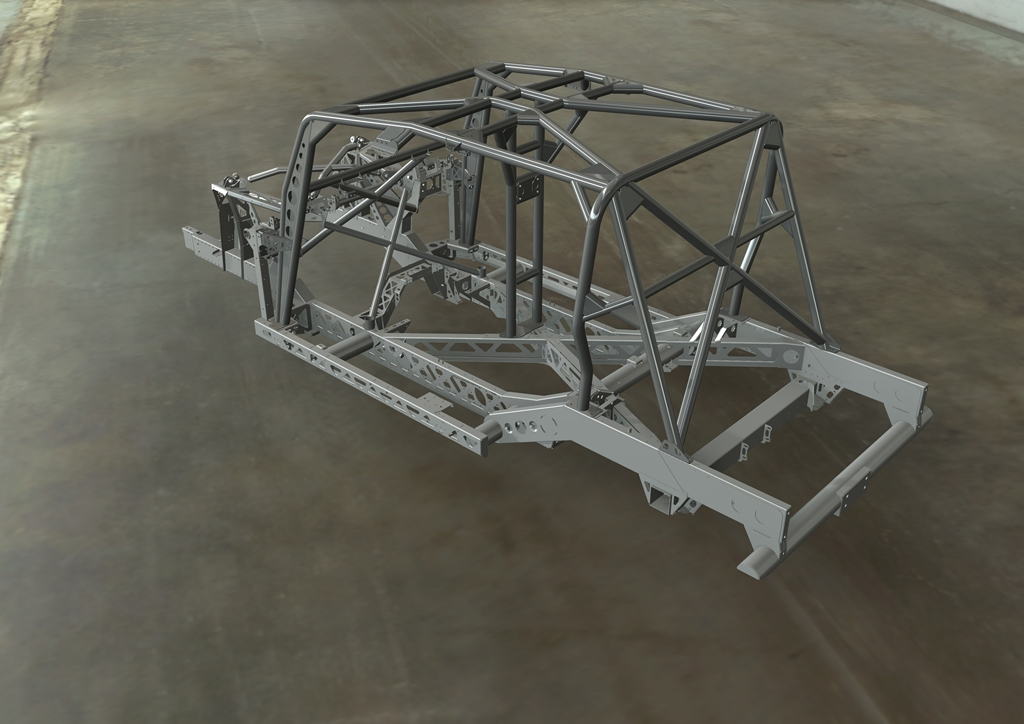 Bowler CSP 575 Chassis Cage