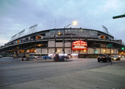 Chicago Wrigley Field Route 66