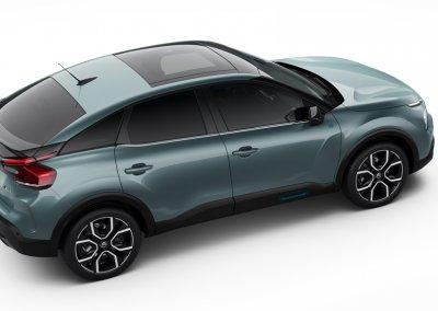 Citroën ë-C4 Heck rechts