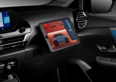 Citroën ë-C4 versenkbare Tablet-Halterung