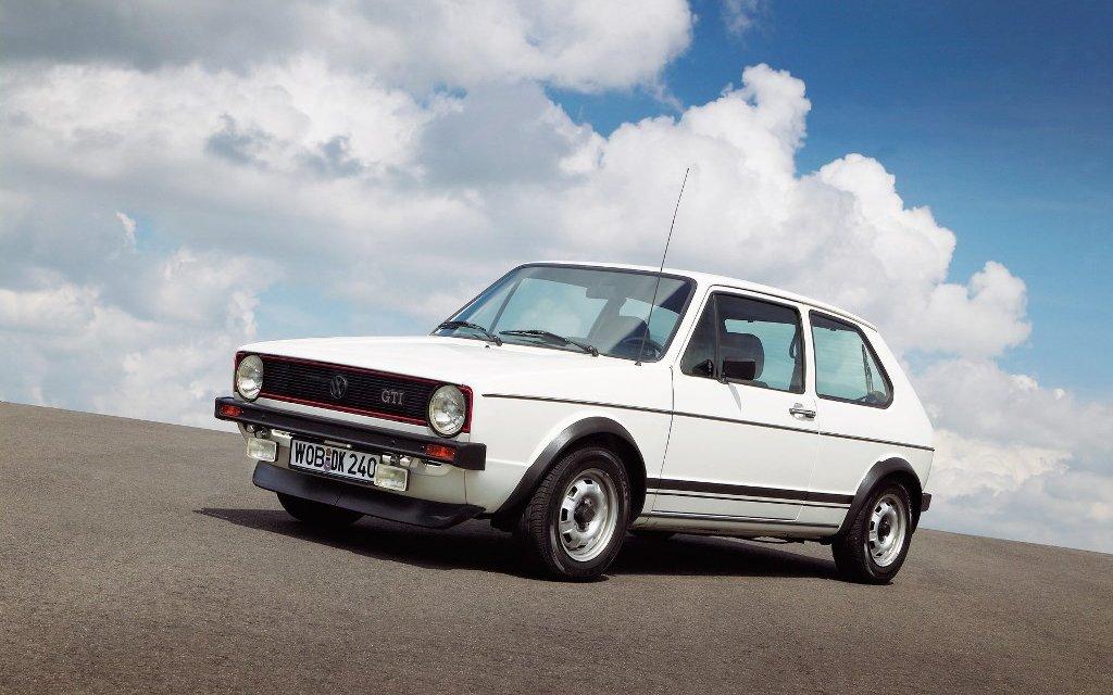 Der VW Golf GTI I und Hans-Joachim Stuck