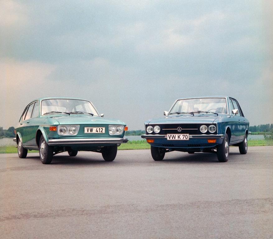 VW 412 und VW K70
