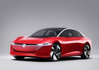 Volkswagen concept car I.D. VIZZION