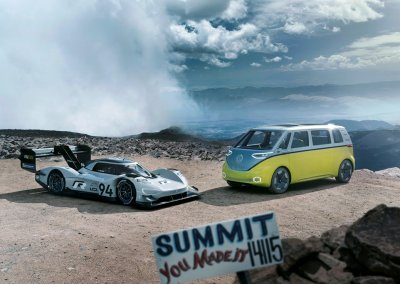 California Dreamin' – with the Volkswagen I.D. R Pikes Peak
