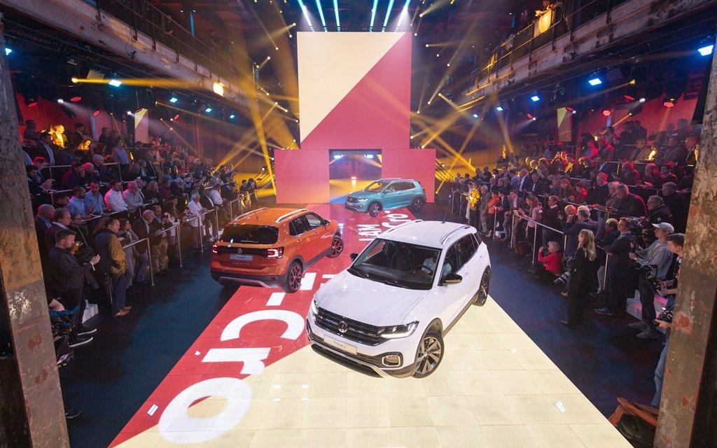 Weltpremiere VW T-Cross in Amsterdam