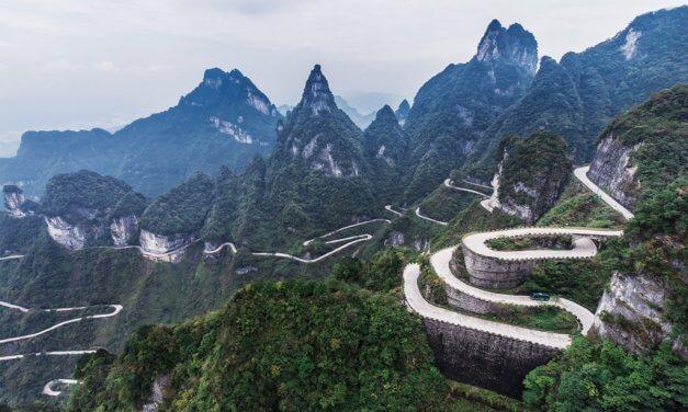 Tianmen Mountain – 99 Kurven zum Himmelstor