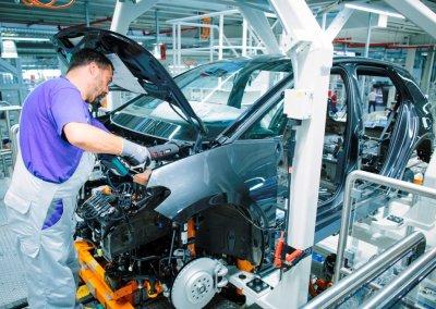 VW ID. 3 Produktion in Zwickau