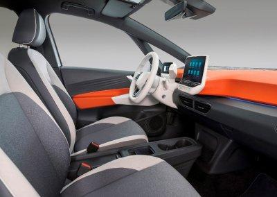 The new Volkswagen ID.3 1st Edition Innenraum