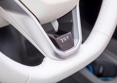 The new Volkswagen ID.3 1st Edition Lenkrad