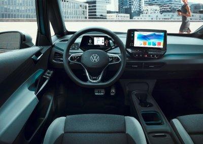 The new Volkswagen ID.3 Cockpit