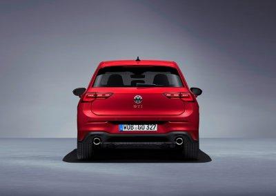 VW Golf GTI 8. Generation hinten