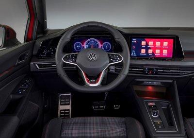VW Golf GTI 8. Generation Cockpit Fahrersicht