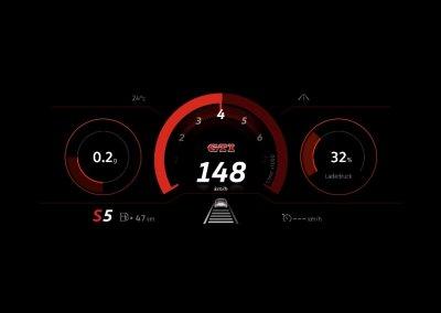 VW Golf GTI 8. Generation Digitales Cockpit